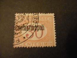COSTANTINOPOLI - 1922, Segnatasse, Cent. 30 Usato. OCCASIONE - 11. Auslandsämter