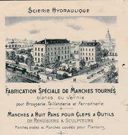 Facture 1907 / Fabrication Manches Tournés / Clefs, Sculpteurs / Tournage Bois / 08 Chémery Sur Bar / Ardennes - Marcophilie (Lettres)