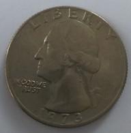 QUARTER  DOLLAR - 1973 - Washington - - 1932-1998: Washington