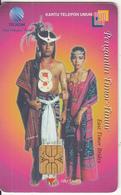 INDONESIA(chip) - Pengantin Timor/East Timor Brides, Telkom Telecard 100 Units, Used - Indonesia