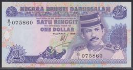 Brunei 1 Ringgit 1989 UNC - Brunei