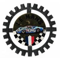 Autocollant - Courses Automobiles - Le Mans - Diamètre : 9,5 Cm - (16) - - Stickers