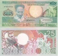 Suriname - 25 Gulden 1988 UNC Lemberg-Zp - Surinam