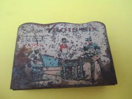 Boite Métallique /Allumettes Pyrogènes /Chapellerie Trois-six/Bonne-nouvelle/Rivoli/Temple/PARIS/Vers1890-1900 BFPP182 - Boîtes