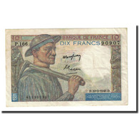 France, 10 Francs, 1949-03-10, KM:99f, TTB+, Fayette:8.20 - 1871-1952 Circulated During XXth