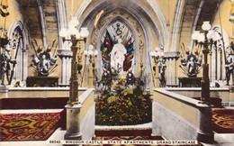Postcard Windsor Castle State Apartments Grand Staircase My Ref  B11935 - Windsor Castle