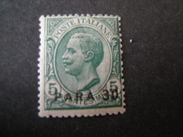 COSTANTINOPOLI - 1921-22, Tiratura Di Torino, Pa. 30 Su Cent. 5 Verde, MNH**. OCCASIONE - 11. Auslandsämter