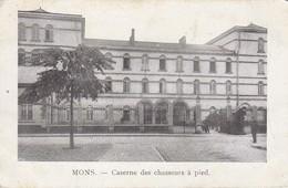 AK Mons - Caserne Des Chasseurs à Pied - Feldpost Rekr. Depot - 1915 (33057) - Mons