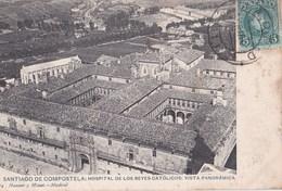 Carte Postale :Santiago De Compostela  (Espagne) Hospital De Los Reyes ....   1908 Hauser Y Menet 1774 - Santiago De Compostela