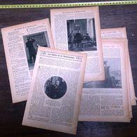ENV 1904 GAIETES DE LA MNEMOTECHNIE JEUX D ECHECS  A MONTE CARLO GRANDES VILLES ET PARIS BITUMIERS BALAYEUSE HYGIENIQUE - Vieux Papiers