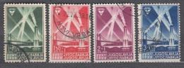 Yugoslavia Kingdom 1938 Mi#354-357 Used - 1931-1941 Königreich Jugoslawien