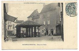 LACAPELLE MARIVAL - Place De La Halle - Lacapelle Marival