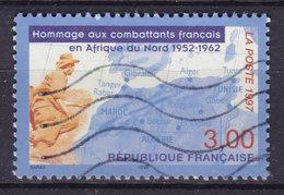 France 1997 Mi. 3215     3.00 (Fr) Gefallenen Französischen Soldaten In Nordafrika (1952-62) Map Landkarte Soldat - Frankreich