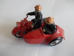 Figurine Pompier Side Car - Small Figures