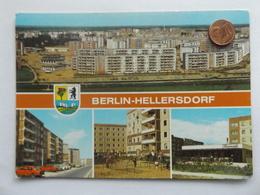 Berlin-Hellersdorf, DDR, Spremberger Str., Spielplatz An Der Cottbuser Str., Rosencafe - Allemagne