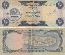 UAE - 10 Dirhams 1973 Poor United Arab Emirates Lemberg-Zp - Emirats Arabes Unis
