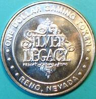 $1 Casino Token. Silver Legacy, Reno, NV. 2004. J62. - Casino