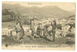 AUVERGNE - Bourrée Enfantine - Mille Bon Souhaits D'Auvergne - Non Classés