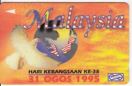 MALAYSIA(GPT) - Hari Kebangsaan KE-38(1), CN : 31USBA, Used - Malaysia