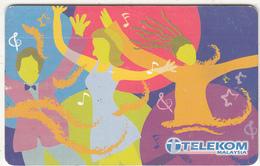 MALAYSIA(chip) - Celebrate Life, Telecom Malaysia Telecard RM20, Used - Malaysia