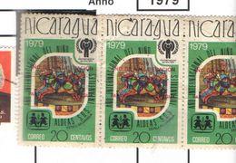 Nicaragua 1979 Anno Del Bambino  Scott.+See Scans On Scott.Album - Nicaragua