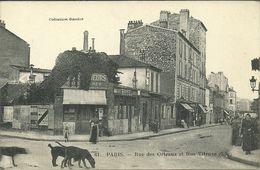 PARIS 20 -la Rue Des Orteauxn Et Rue Vitruve           -- Gandon 61 - Arrondissement: 20