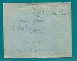WW2 - Occupation Allemande - FELDPOSTNUMMER 13815 - DUNKERQUE (Nord) -1942       (ZARPEN) - Postmark Collection (Covers)