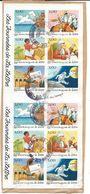 France - Bande Timbres Les Journées De La Lettre, Yvert 3150/3155 Oblitéré - Usados