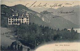 RIGI - HOTEL BELLEVUE - ANNO 1910 - LU Lucerne