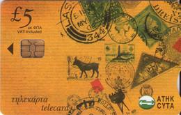 TARJETA TELEFONICA DE CHIPRE. (058). - Chipre