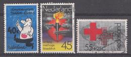 Pays-Bas 1978  Mi.nr: 1123-1125 Rode Kruis Etc.  Oblitérés / Used / Gestempeld - Periode 1949-1980 (Juliana)