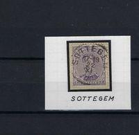N°139A GESTEMPELD Sottegem SUPERBE - 1915-1920 Albert I.