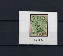 N°137 GESTEMPELD Zout-Leeuw - Leau SUPERBE - 1915-1920 Albert I.