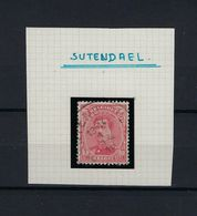 N°138 GESTEMPELD Sutendael SUPERBE - 1915-1920 Albert I.