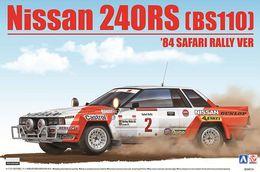 Nissan 240RS '84 Safari Rally Winner 1/24 ( Aoshima ) - Cars