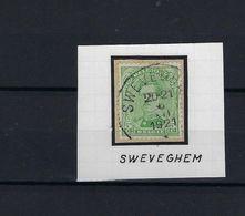 N°137 GESTEMPELD Sweveghem SUPERBE - 1915-1920 Albert I.