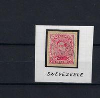 N°138 GESTEMPELD Swevezeele SUPERBE - 1915-1920 Albert I.
