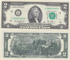 USA - 2 Dollars 2013 Serie L AUNC Lemberg-Zp - United States Of America