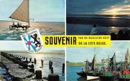Souvenir De La COTE BELGE - Souvenir Van Belgische Kust - België