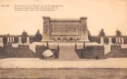 WULPEN - Gedenkteeken Aan De Gesneuvelden Der IV Legerafdeeling - België