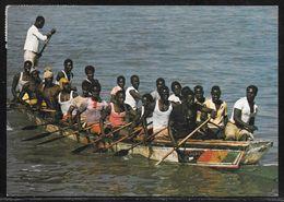 Gambia - Gambian Racing Canoe - Used To UK - Gambia