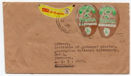TONGA - COVER TO AUSTRALIA / THEMATIC STAMPS / NUKU'ALOFA CANCEL 1983 - Tonga (1970-...)