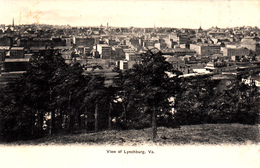 Antique 1900-1910 Postcard - View Of Lynchburg Virginia - By American News Company - Very Good Condition - 2 Scans - United States