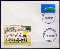 1974 , HAITÍ , PORT - AU - PRINCE , PRELIMINARES DE LA COPA MUNDIAL DE FÚTBOL EN MUNICH - Copa Mundial