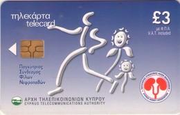 TARJETA TELEFONICA DE CHIPRE. (098). - Chipre