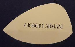 TARJETA PERFUMADA GIORGIO ARMANI. - Cartas Perfumadas