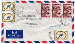AFGHANISTAN - AIR MAIL COVER TO ITALY 1972 / THEMATIC STAMPS-AGRICOLTURE / TUBERCOLOSIS VACCINATION - Afghanistan