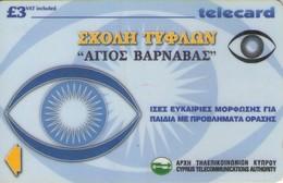 TARJETA TELEFONICA DE CHIPRE. 35CYPB (115). - Chipre