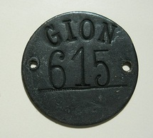 Token Or Other Thing To Identify * GION * 615 - Tokens & Medals