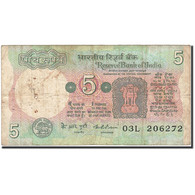 Billet, India, 5 Rupees, 1975, Undated (1975), KM:80g, TB - India